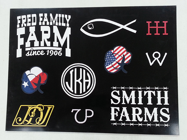 Wall art made from removable vinyl is another one of our specialties ask us about yard signs for your next big event or sale our design team can create